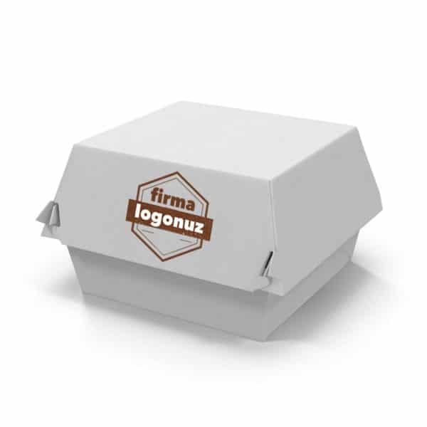 Antalya baskılı hamburger kutusu
