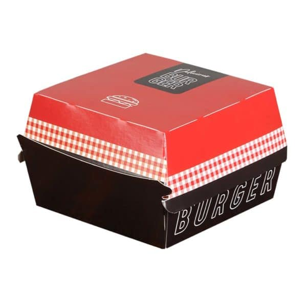 Printed Hamburger Box