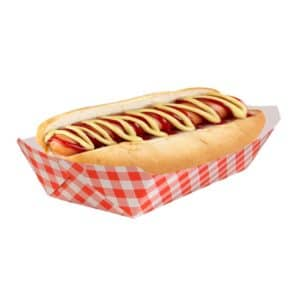 Printed Hotdog container