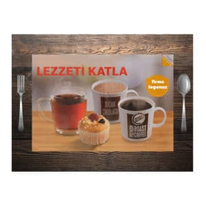 Printed Paper Table Mats
