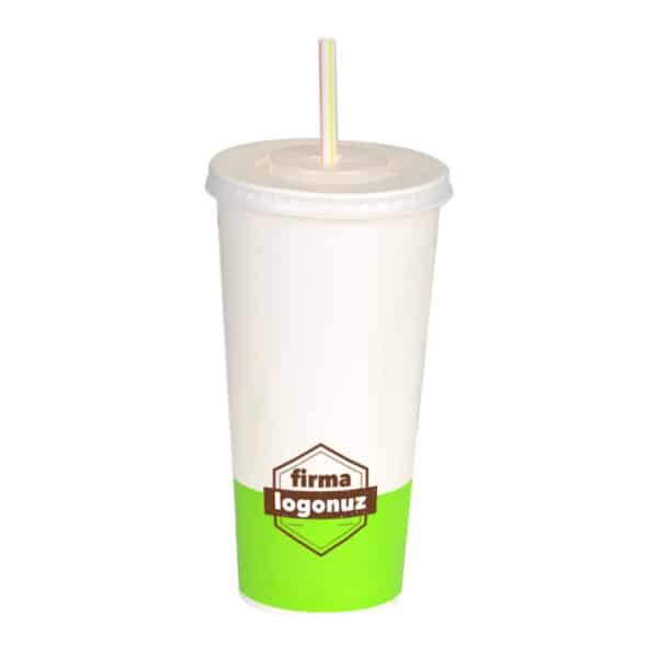Antalya Baskılı Karton Soğuk İçecek Bardağı