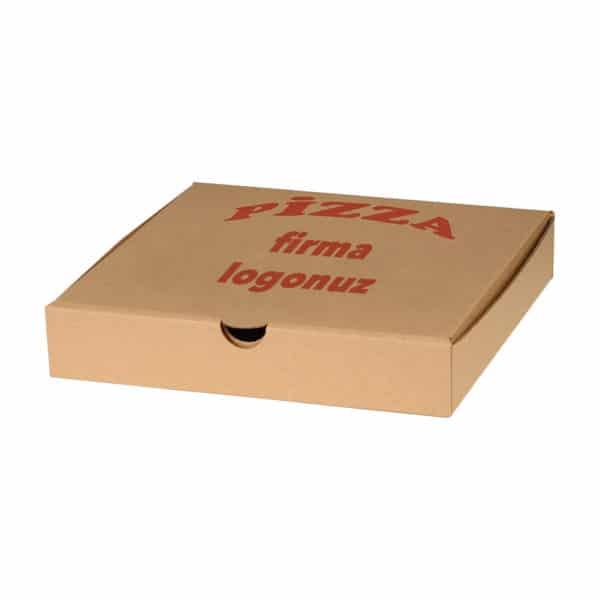 Antalya Baskılı Pizza Kutusu Kapalı