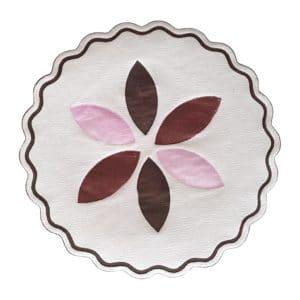 Printed paper coaster