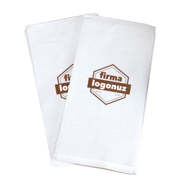 Printed Folding Waiter Napkin