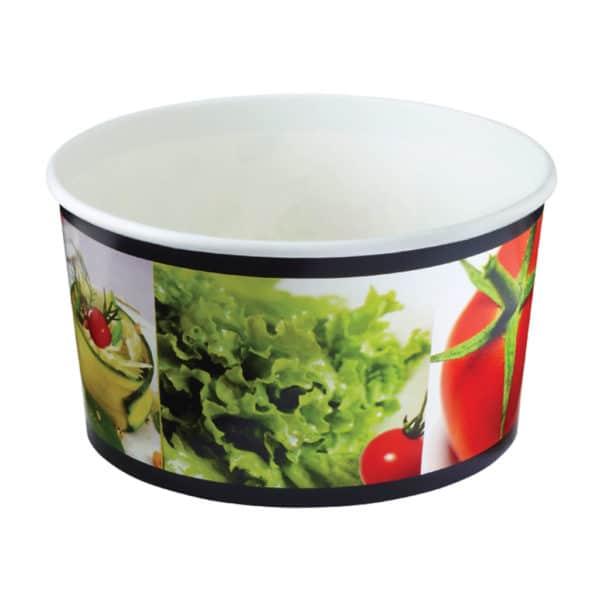 Antalya baskılı salata kasesi