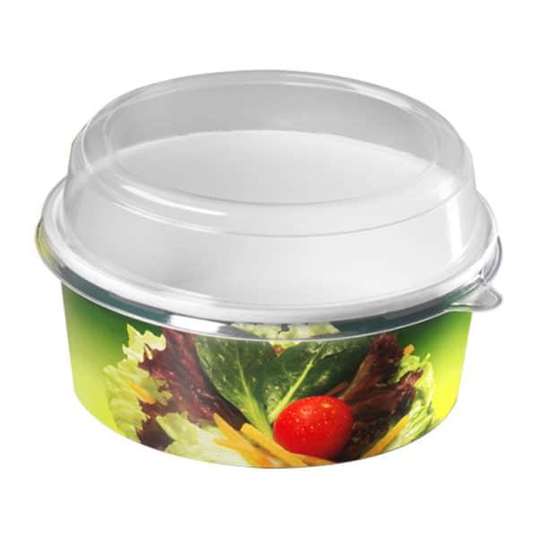Printed Cardboard Salat Bowl production