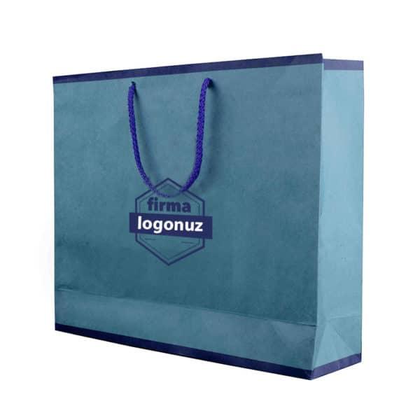 Antalya baskılı saplı taşıma çantası kraft çanta