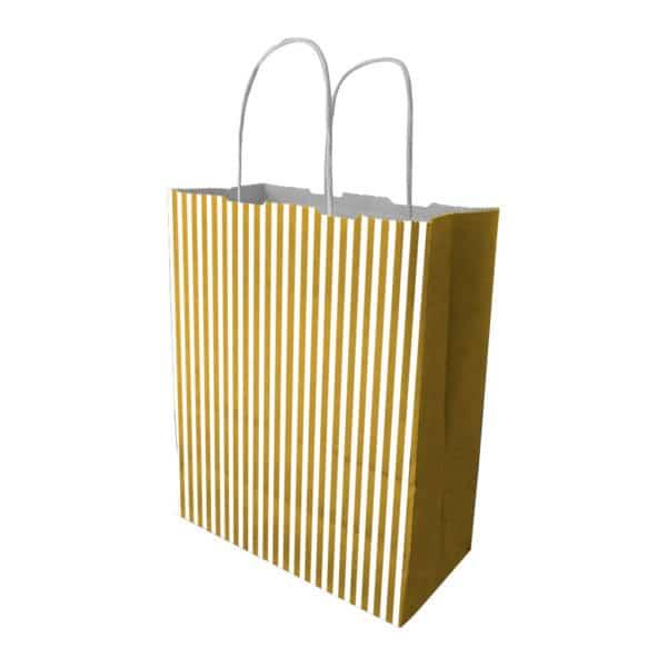 _0021_gold çizgili renk kağıt çanta burgu saplı