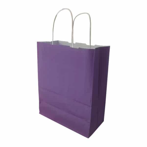 _0023_mor renk kağıt çanta burgu saplı