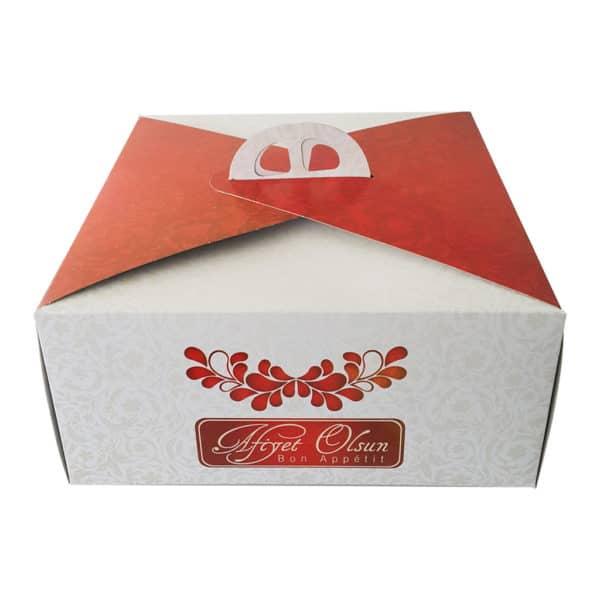 Prepared Cake Box-Prepared packaging products 1