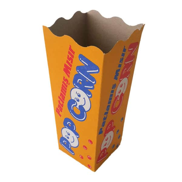 Prepared Cardboard Popcorn Box high quality x