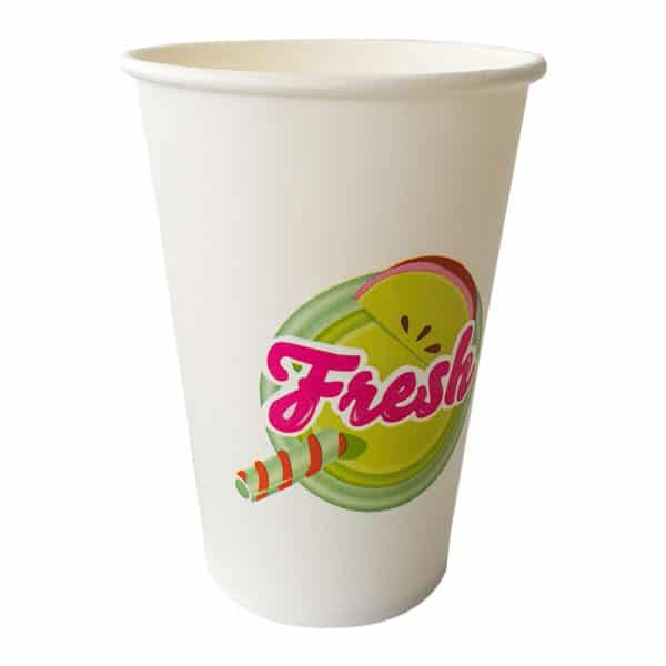 Prepared cold drinks cup cardboard cup for cold drinks leakproof specially printed