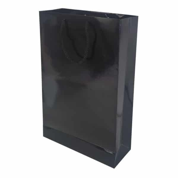 26 x 38,5 x 8 cm Cardboard Bag Black Color