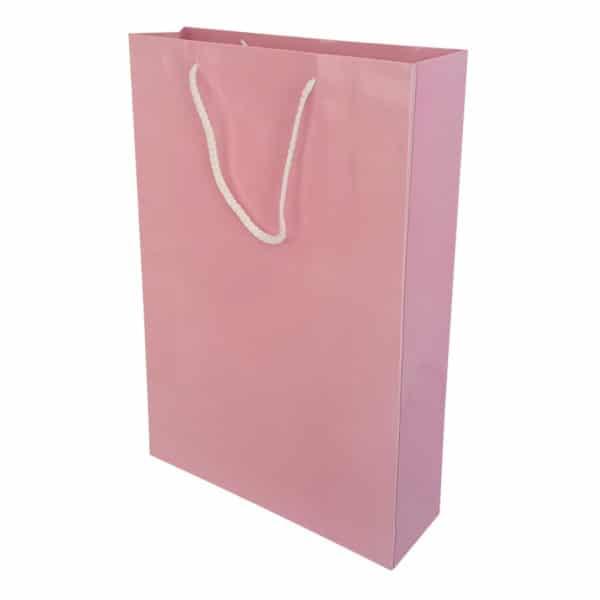 26 x 38,5 x 8 cm Cardboard Bag Pink Color