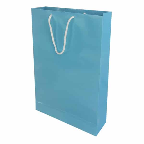 26 x 38,5 x 8 cm Cardboard Bag Mavi Renk