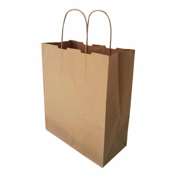 kraft bag, kraft çanta, kağıt çanta, saplı kraft çanta battal boy