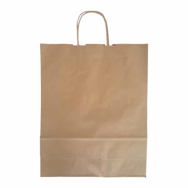kraft bag, kraft çanta, kağıt çanta, saplı kraft çanta uzun