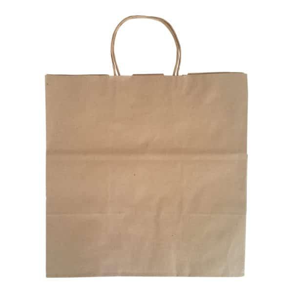 kraft bag, kraft çanta, kağıt çanta, saplı kraft çanta