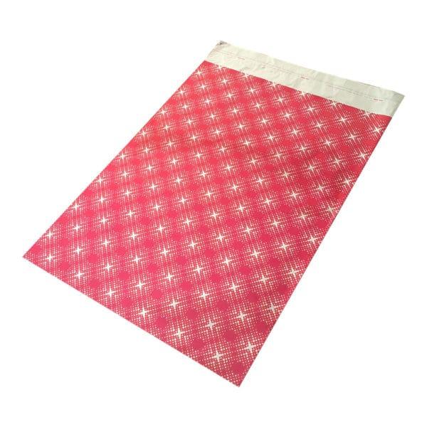 Kırmızı 30 x 45 cm Metalize hediyelik poşet