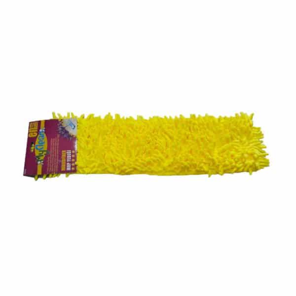 sarı makarna mop – 50 cm mikrofiber