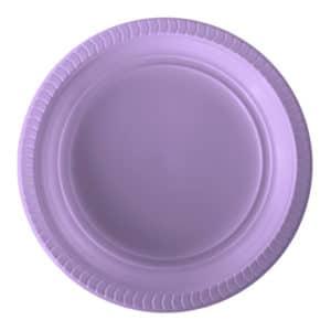 Lila-Plastik-Tabak-kullan-at-22-cm-25-li