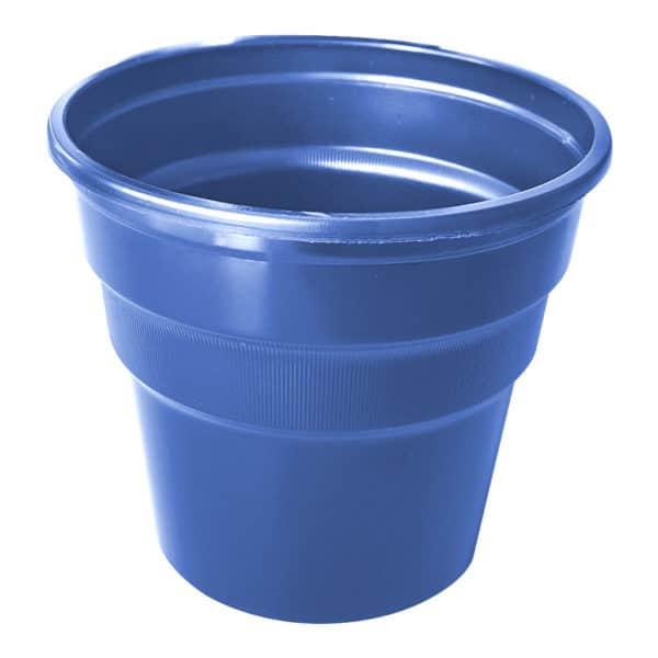 mavi renk kullan at plastik bardak