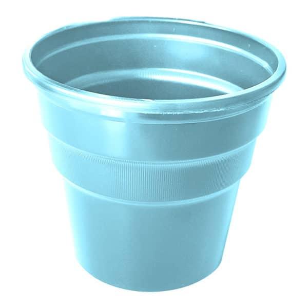 açık mavi kullan at plastik bardak