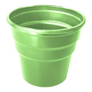 yeşil renk kullan at plastik bardak