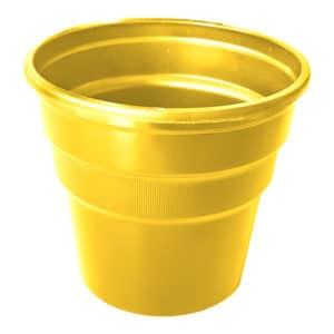 sarı renk kullan at plastik bardak