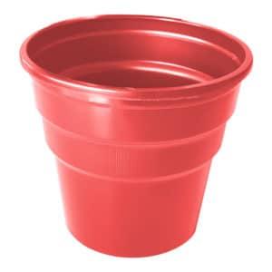 kırmızı renk kullan at plastik bardak