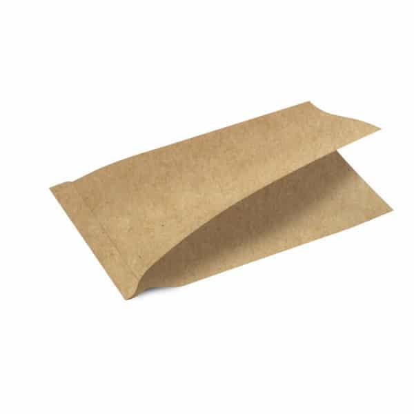 Pide burger kağıdı 10×20 cm ebatta,1200 adetli pakette, ürün şamua kraft kağıttan üretilmiş olup, düz kraft renkte