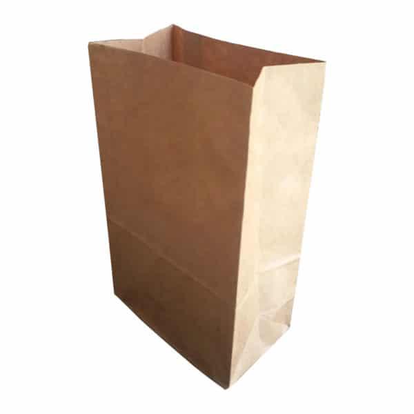 Kare dipli kese kağıdı 15x29x9 cm ebatında 250 adetli pakette