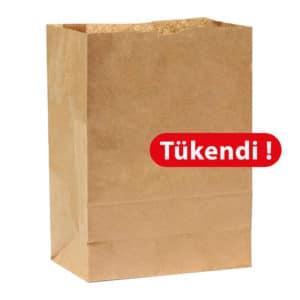Kare dipli kese kağıdı 25x30x12 cm ebatında 50 adetli pakette veya 600 adetli koli tükendi!