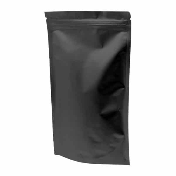 Kilitli kese torbası alüminyum siyah 21x31x5 cm ebatında 250 adetli, 1000 adetli pakette.