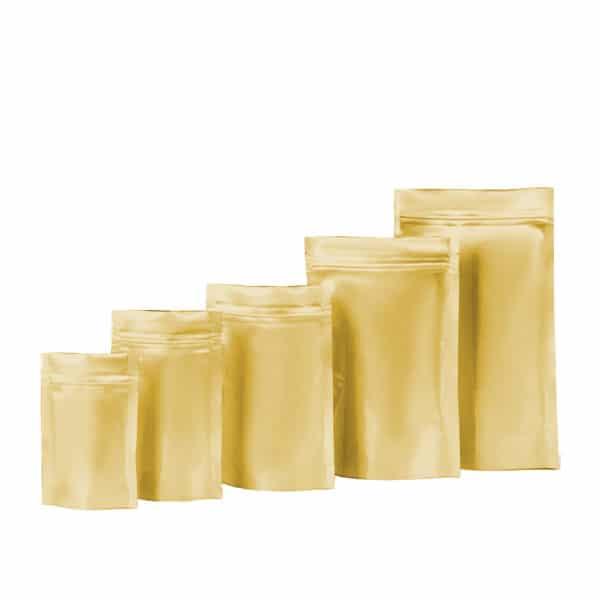 gold renk altın renk golden alüminyum kese torbaları