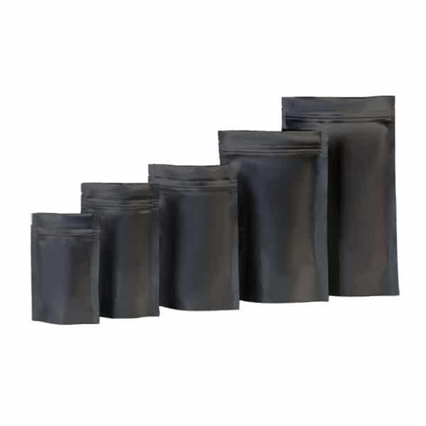 siyah alüminyum kese torbaları 1