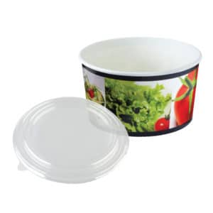 Karton salata kasesi 750 gr, ürün standart baskılı, kapak dahil ve 50 adetli pakette, baskıda görsel farklılık gösterebilir.