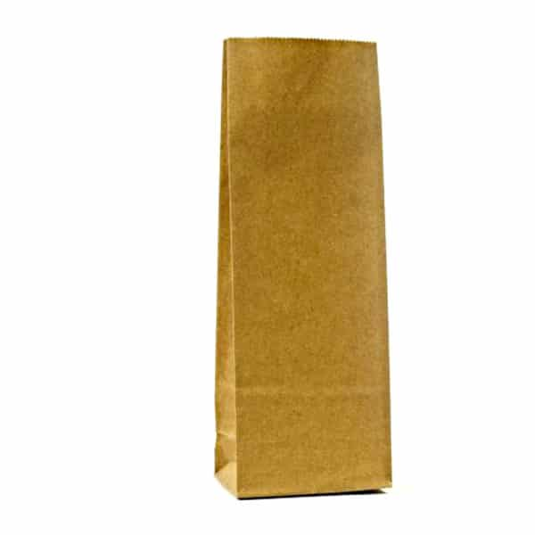 Kraft renkte çizgisiz 250 gr'lık çay poşeti, 1200 adetli pakette