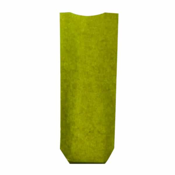 Naturel yeşil renk pencereli şeffaf pastane poşeti büyük boy, 100 adetli pakette