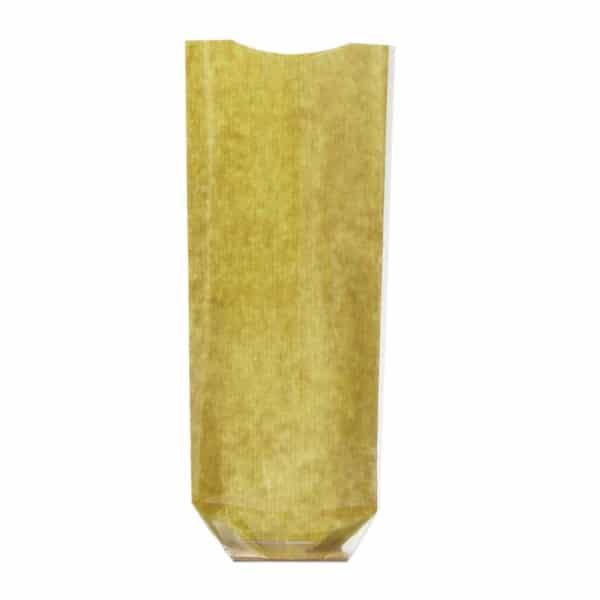 _0024_Naturel yeşil renk pencereli şeffaf pastane poşeti küçük boy, 100 adetli pakette