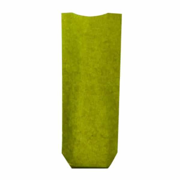 Naturel yeşil renk pencereli şeffaf pastane poşeti küçük boy, 100 adetli pakette