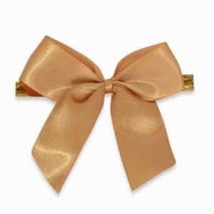 Klipsli kurdele gold renk büyük boy, 50 adetli pakette
