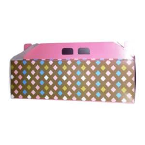 Saplı baton pasta kutusu 33,5x9,5x9,5 cm ebatta, 100 adetli pakette, ürün gıdayla temasa uygun kartondan üretilmiştir