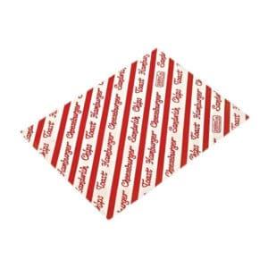 Standart baskılı paket kağıdı küçük boy, 1500 adetli pakette