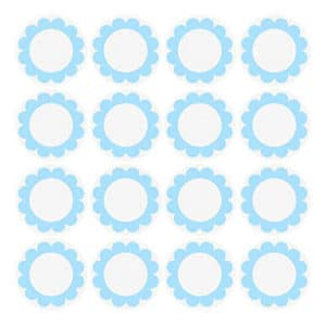 Mavi Papatya Etiket 12li