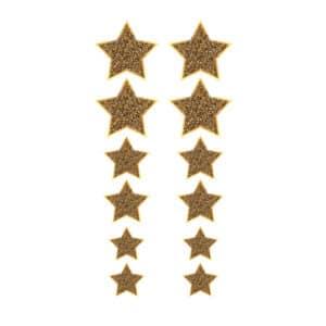 Altın Yıldız Sticker Set 12li