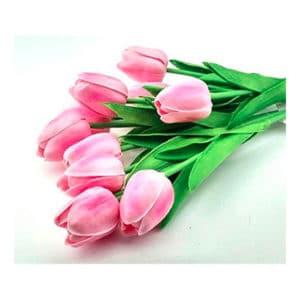 Yapay Çiçek Lale Pembe 30cm 1 Adet