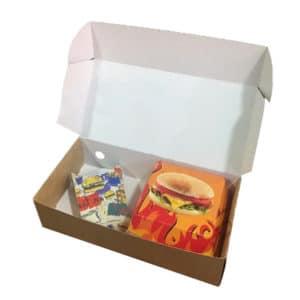 paket servis kutusu kraft renk 15x26x8.5, 15x30x8,5 cm
