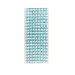 İnci Görünümlü Mavi Sticker