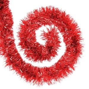 Kırmızı Renk Kalın Boyun Simi 5cm 2m